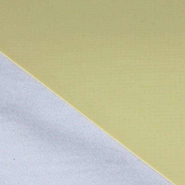 PVC matt ohne Saum und ohne Ösen, beige