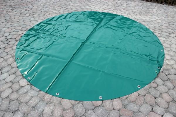 PVC Rundplane mit Ösen alle 50cm, ab Ø 1m