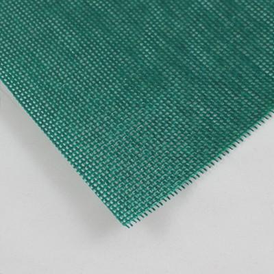 PVC Netz ohne Saum und ohne Ösen, moosgrün