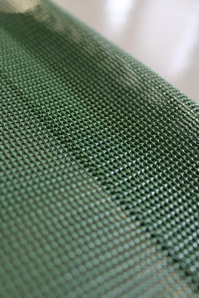 PVC Netz mit Saum und ohne Ösen, moosgrün