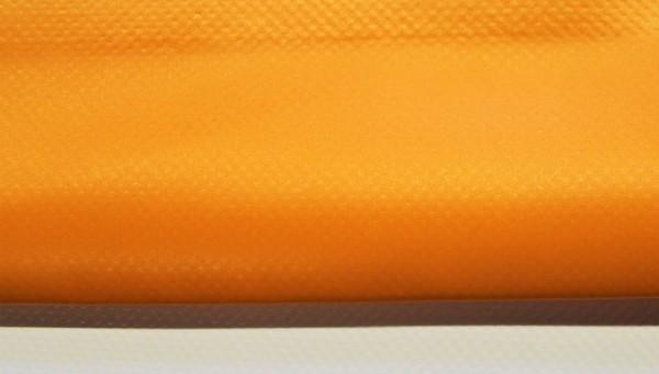 PVC matt mit Saum und ohne Ösen, orange hell
