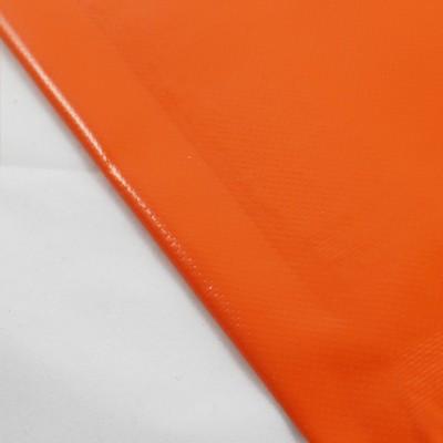 mit Saum und ohne Ösen, orange