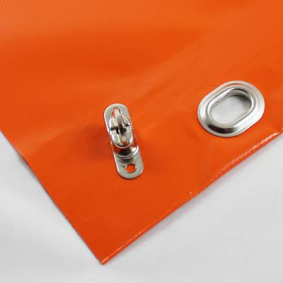 mit saum und oval sen alle 1m inkl drehwirbel orange h e l p technische planenkonfektions gmbh. Black Bedroom Furniture Sets. Home Design Ideas