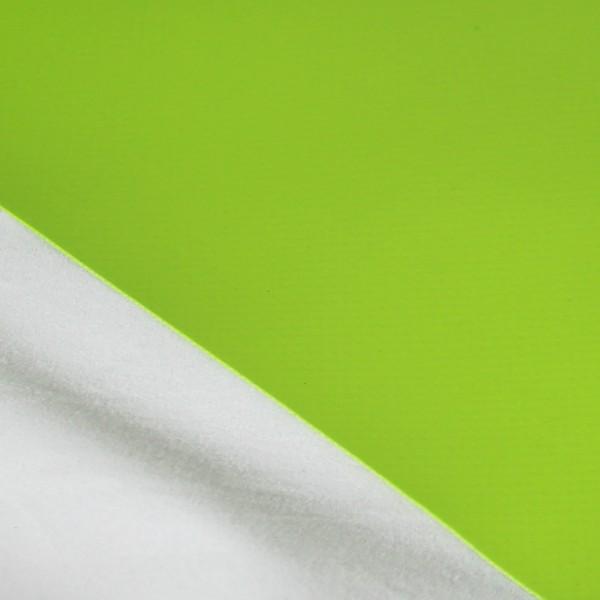 PVC matt ohne Saum und ohne Ösen, grasgrün